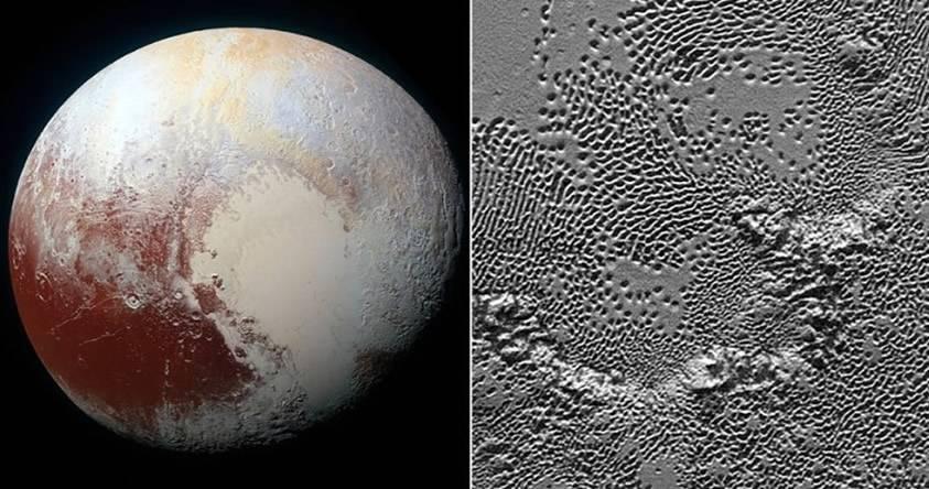 NASA muestra un vídeo de la vista más detallada de Plutón