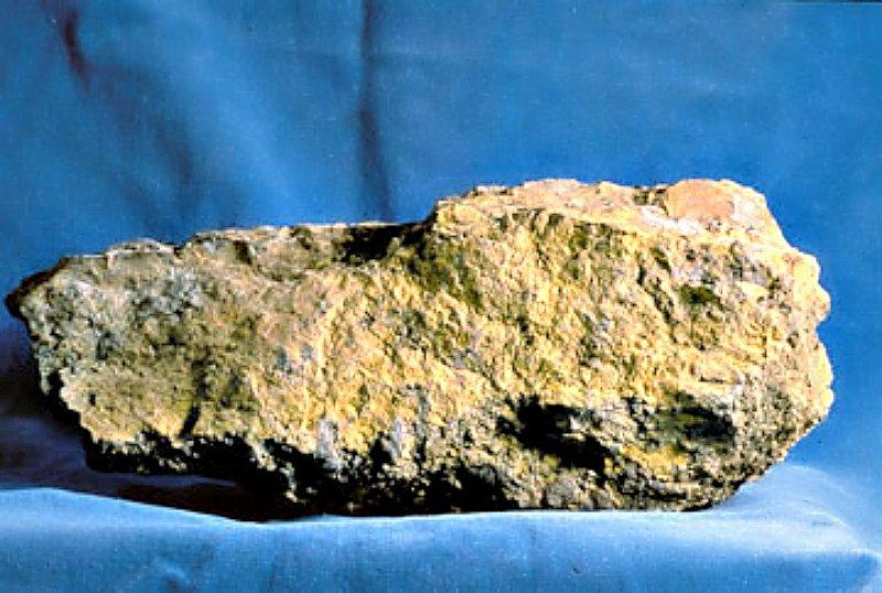 Mineral de Uranio.