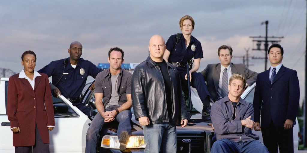 the shield tv crime shows top