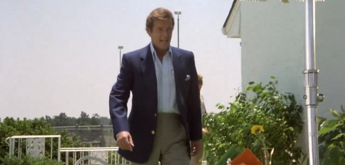 The Cannonball Run roger moore