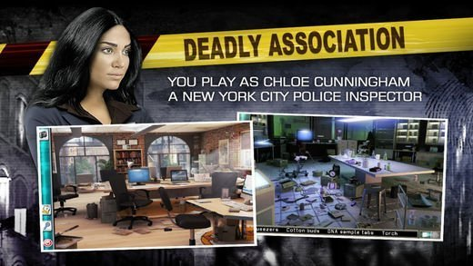 Deadly Association - A Hidden Object Adventure 47 Best Mystery, Detective And Crime Game Apps In The Market Now