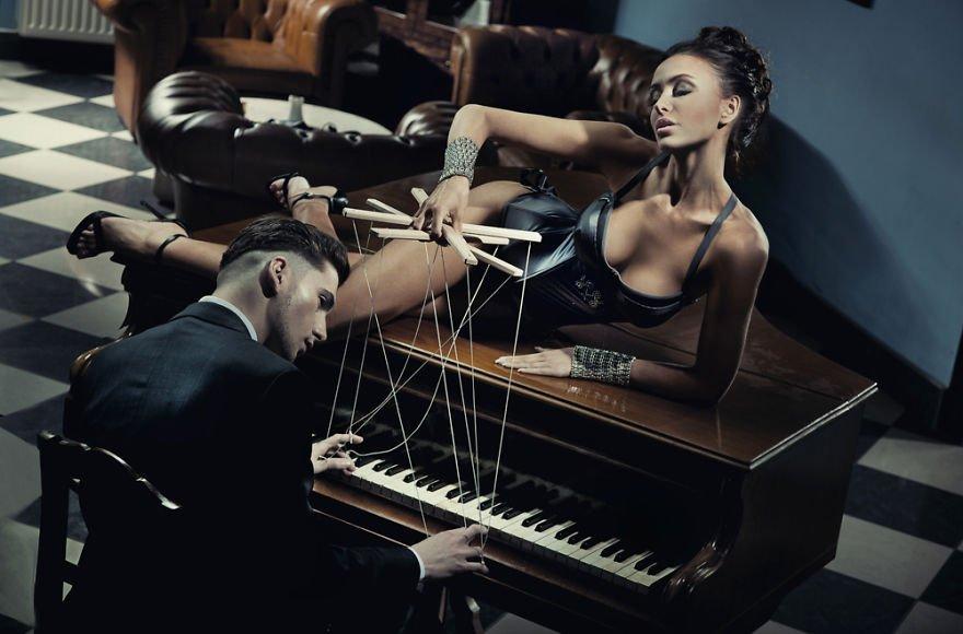 The Pianist I Konrad Bak Surreal Photography