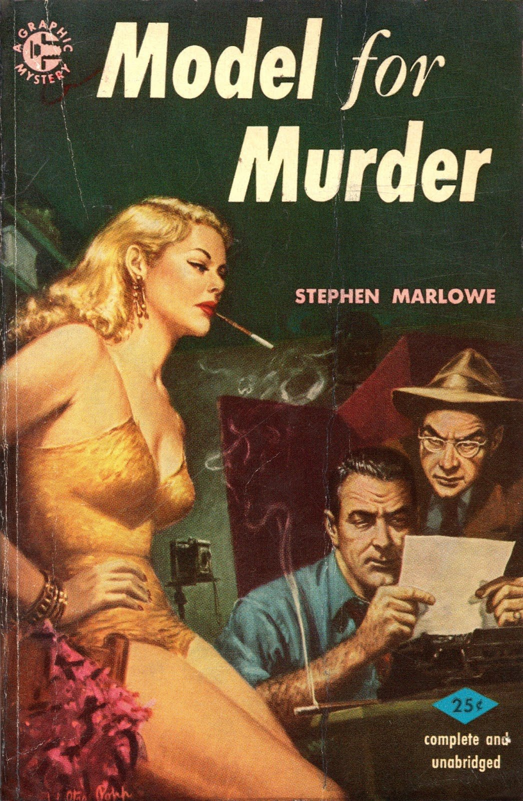 26 Best Cover Illustrators Behind Some Of The Most Iconic Vintage Crime And Thriller books Walter Popp