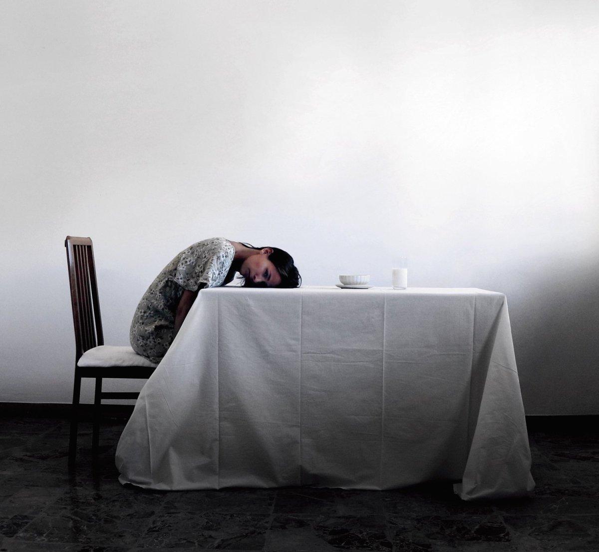 Blanca mañana, blanca espera The Mysterious World Of Montserrat Diaz Photography