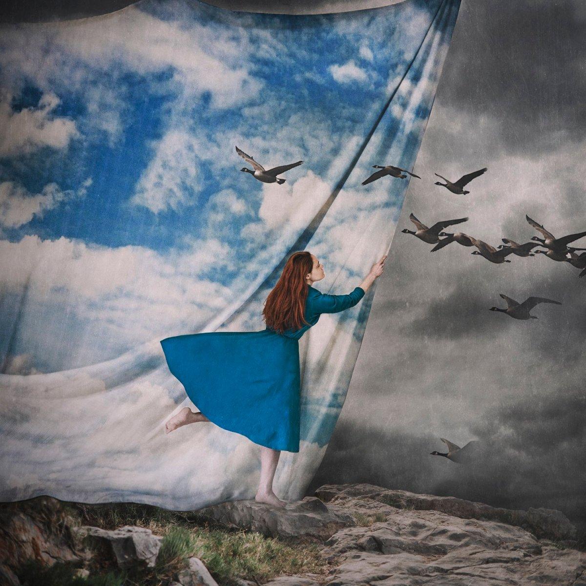 Otherworldly Imagery Of Frank Diamond surreal photography The false sky