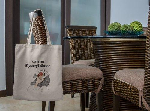 Mystery Tribune Tote Bag M1