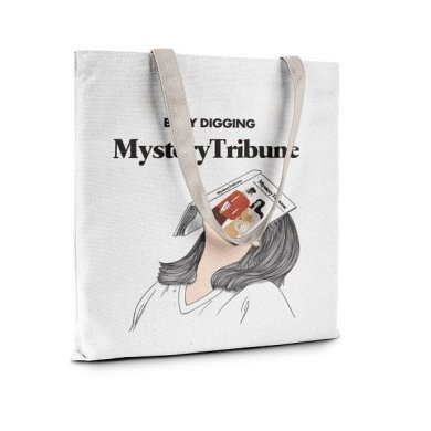Mystery Tribune Tote Bag - Main