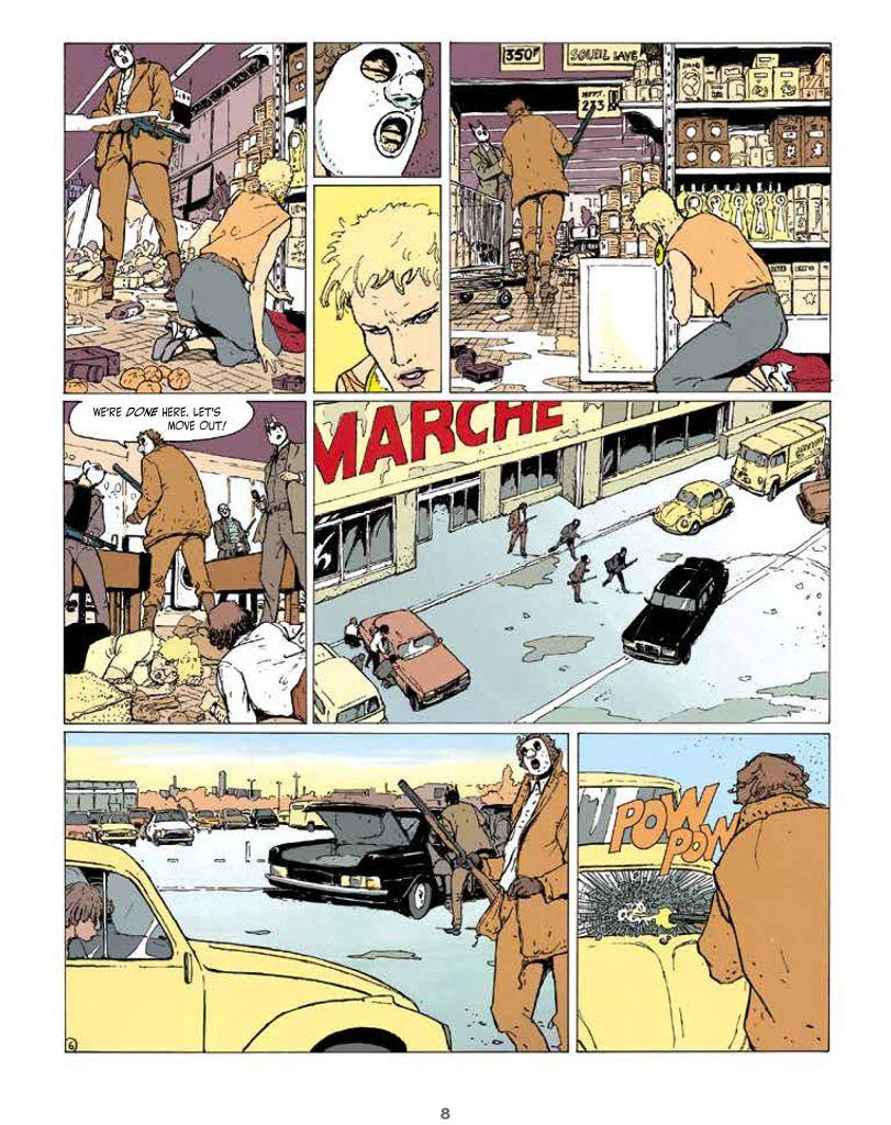 An Intense Feminist Crime Comics Dark Rage By Thierry Smolderen 3