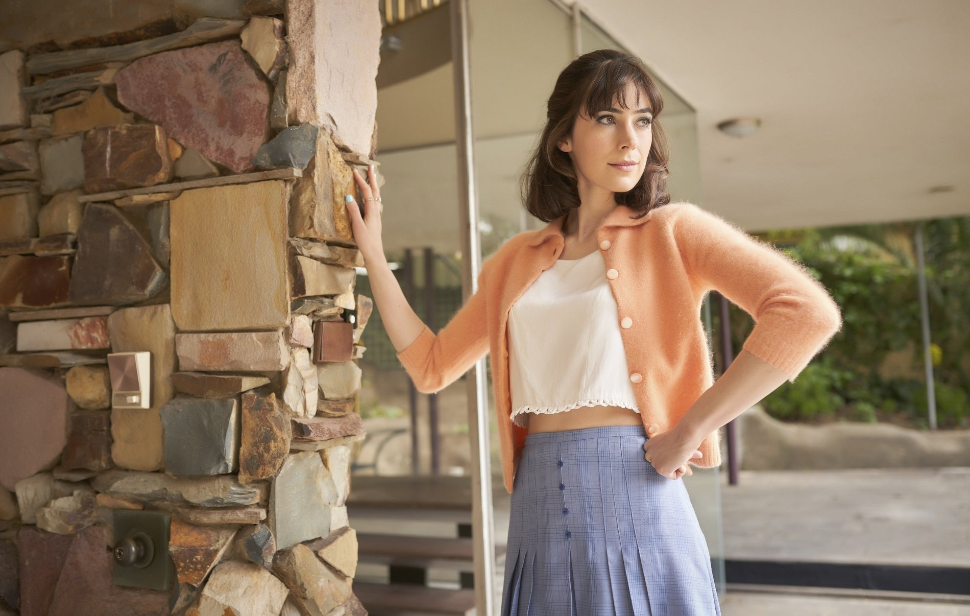 Ms Fisher's Modern Murder Mysteries on Acorn TV_Geraldine Hakewill as Peregrine Acorn TV April 2019 Slate of Mystery, Crime Drama Shows (66)