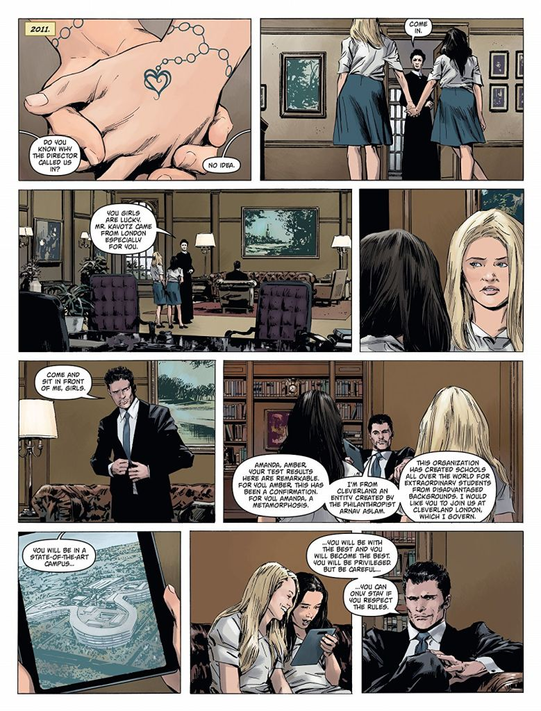 Amber Blake An Irresistible Thriller Comics With A Fearless Female Lead 3