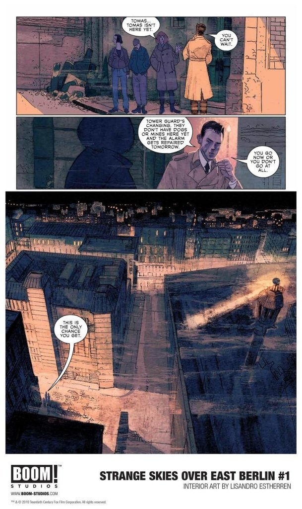 Exciting Comics Series Scifi Spy Thriller Strange Skies Over East Berlin 3