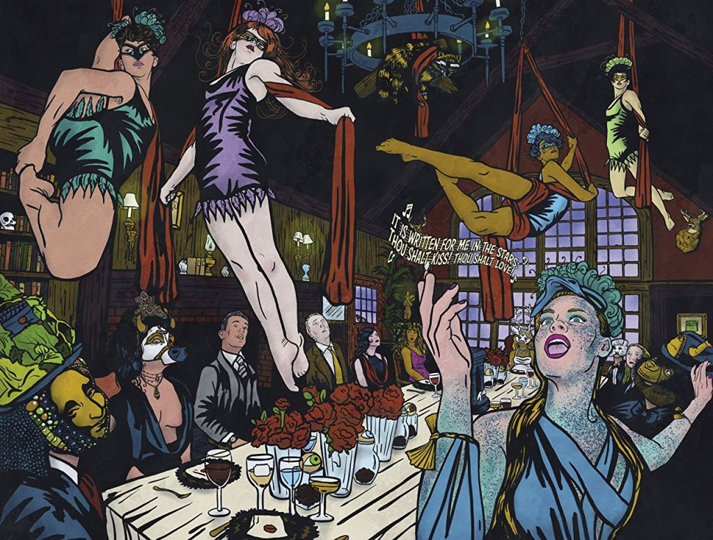 Graphic Novel The Illuminati Ball Is Eyes Wide Shut Crossed With The Island of Dr. Moreau 2