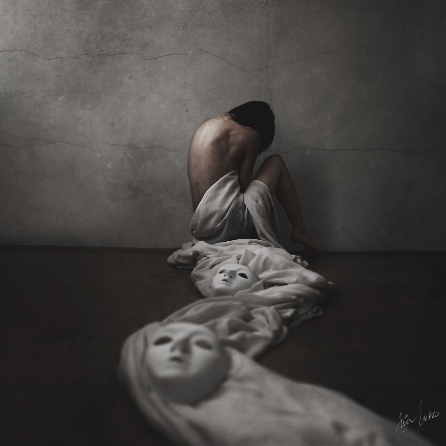 Magnificent And Mysterious Self-Portrait Photography By Anja Matko 1