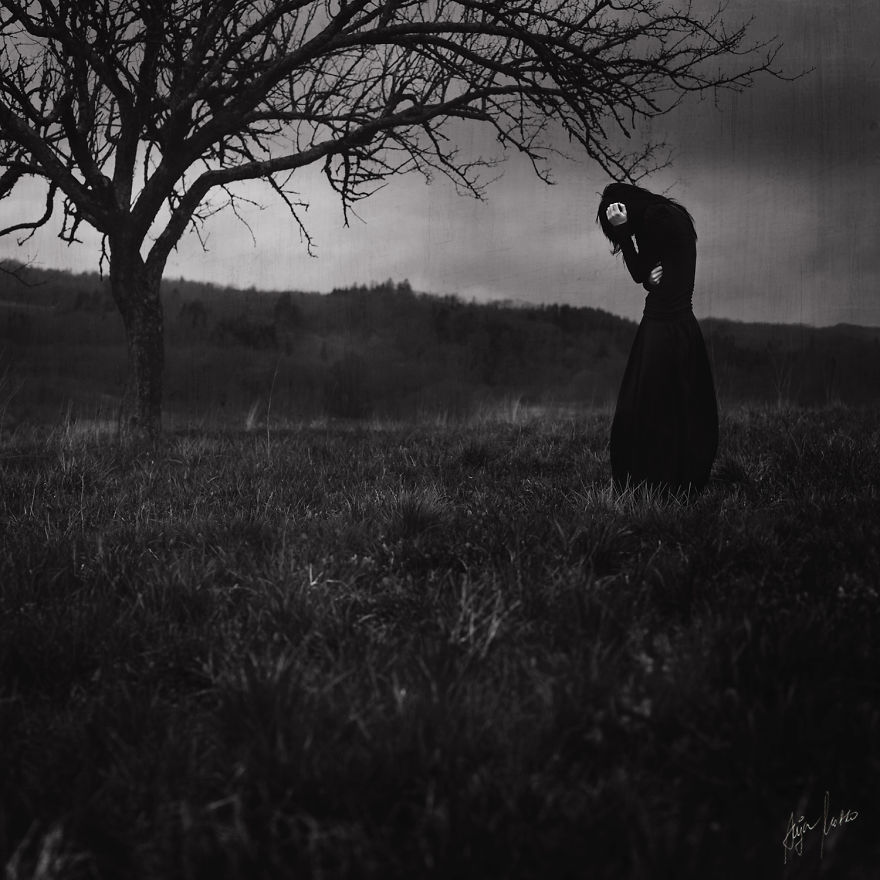 Magnificent And Mysterious Self-Portrait Photography By Anja Matko 6