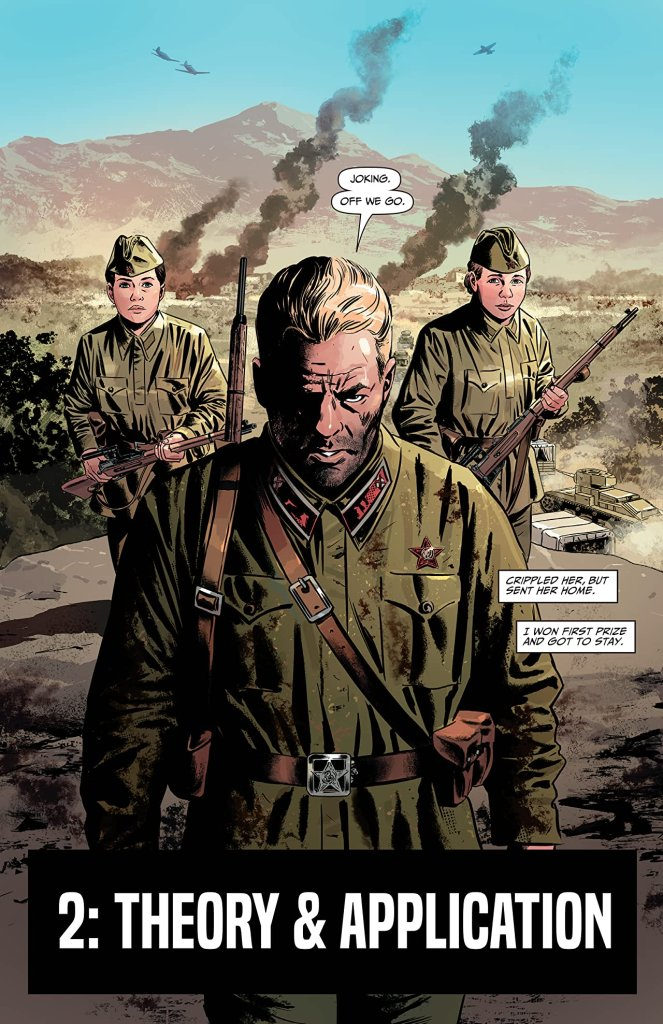 Sara A Solid World War II Thriller Comics With A Female Lead 5