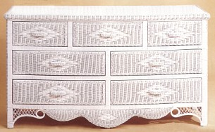 White Wicker Chest Of Drawers Wooden Cabi For Bedroom Source View All Stock 5251