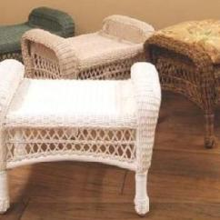 Resin Wicker Chair With Ottoman Braun Lift All Weather Aluminum Patio Furniture Outdoor Ottomans
