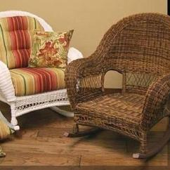 Indoor Rocking Chair Cushions Dining Room Covers On Sale Wicker Rocker | Outdoor Porch