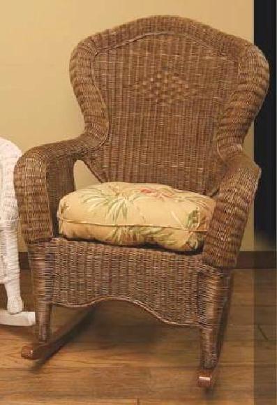 wicker rocking chair revolving parts names rocker outdoor porch diamond design brown