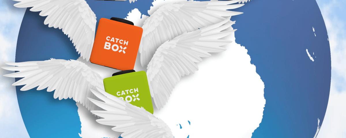 Catchbox shipped worldwide