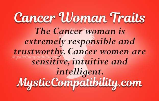 Cancer Woman Personality Traits - Mystic Compatibility
