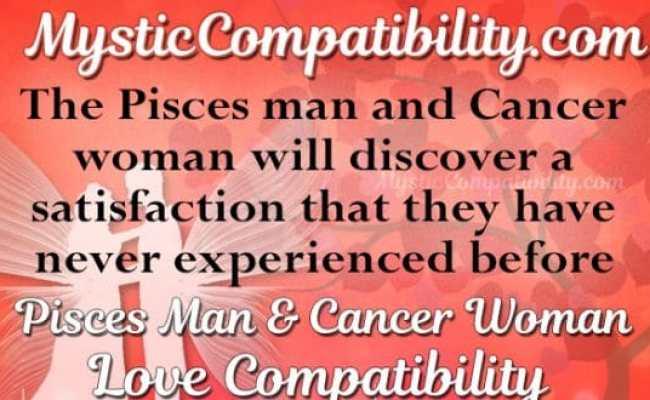 Pisces Man Cancer Woman Compatibility Mystic Compatibility