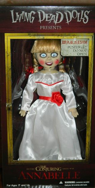Living Dead Dolls Presents The Conjuring Annabelle Doll 94460  3999  Mystic Crypt the