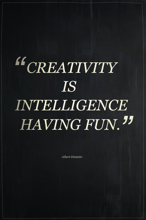 creativity is intelligence-mysticmamma-com