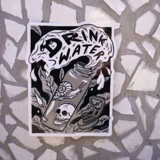 Drink Water sticker