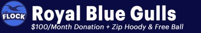 Royal Blue Gulls