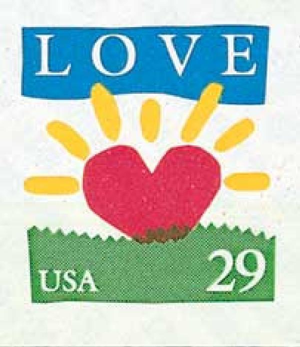 1994 29c love series