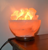 Himalayan Salt Lamp Bowl (Mood Enhancing / Breathing ...