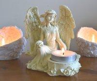 Rose Angel Tealight / Candle Holder | Mystic Wish