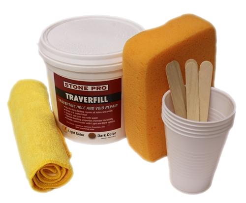 travertine filler kit 3 pound