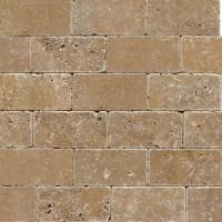Noce Tumbled Travertine 3x6 [Noce_Tumbled3x6] : My Stone ...