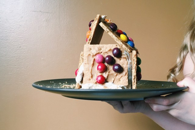Non gingerbread holiday houses