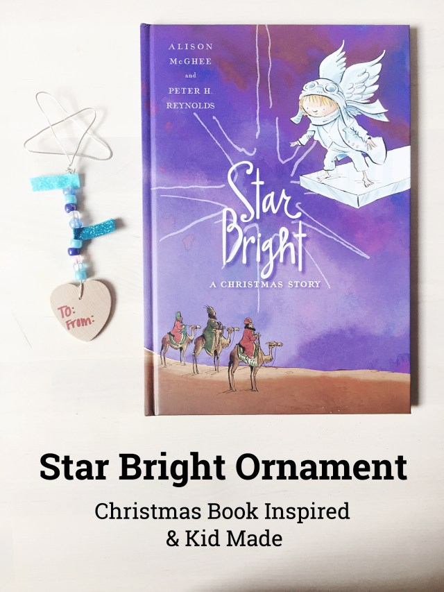 Star Bright Inspired Christmas Ornament Kid Made