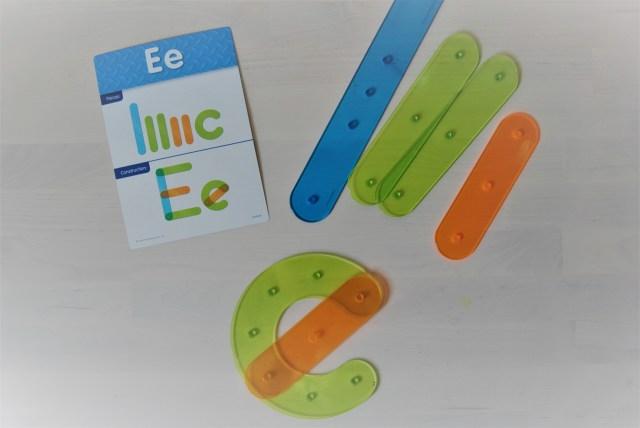 light table letter materials
