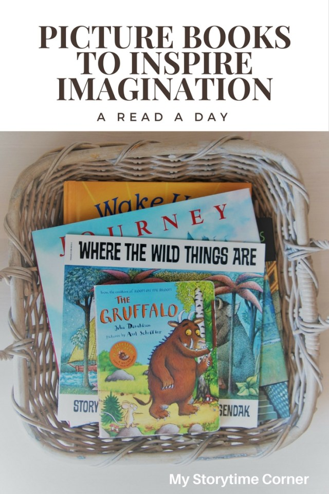Imagination Picture Books for A Read A Day