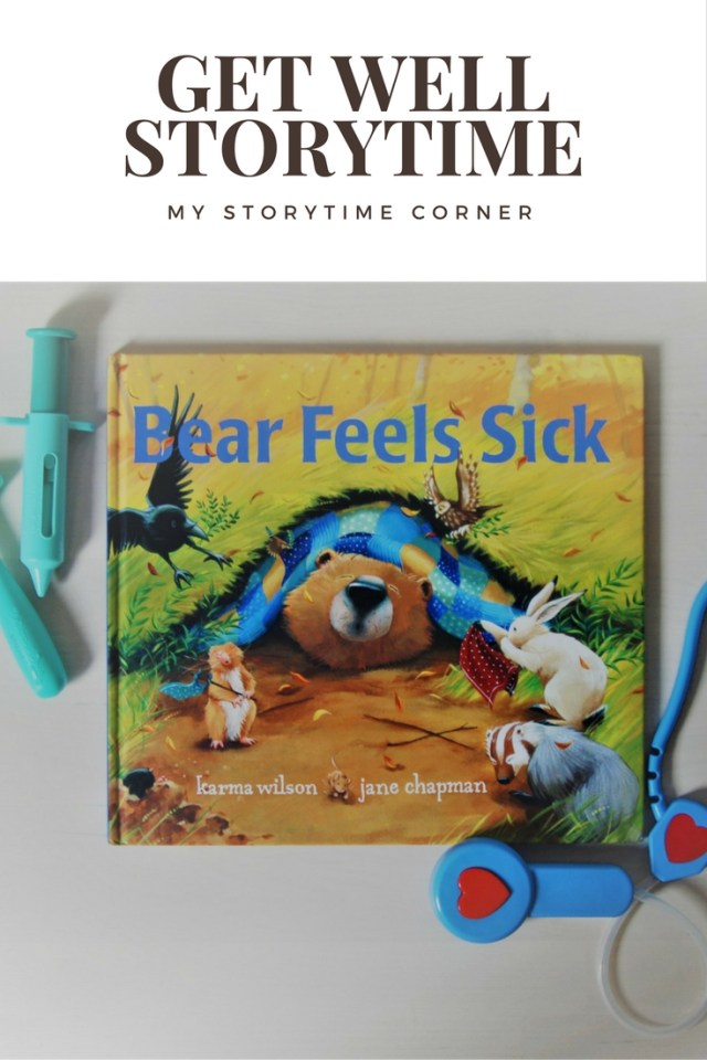 Get Well Sickness Health Story Time