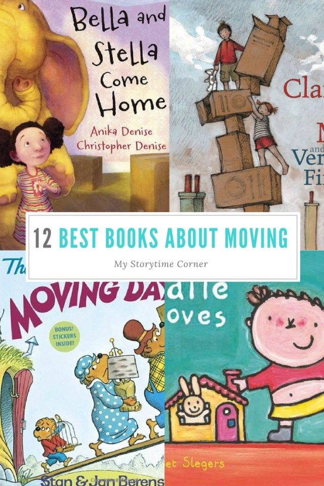 Best Picture Books about Moving with Kids
