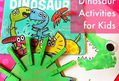 We Are the Dinosaurs Activities for Toddlers and Preschoolers