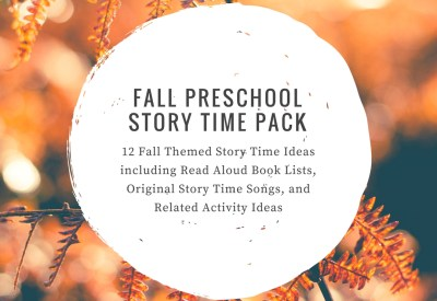 Fall Preschool Story Time Ideas Pack
