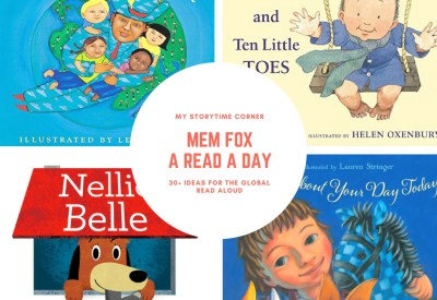 Picture Books for Preschoolers inspired by Mem Fox and the Global Read Aloud