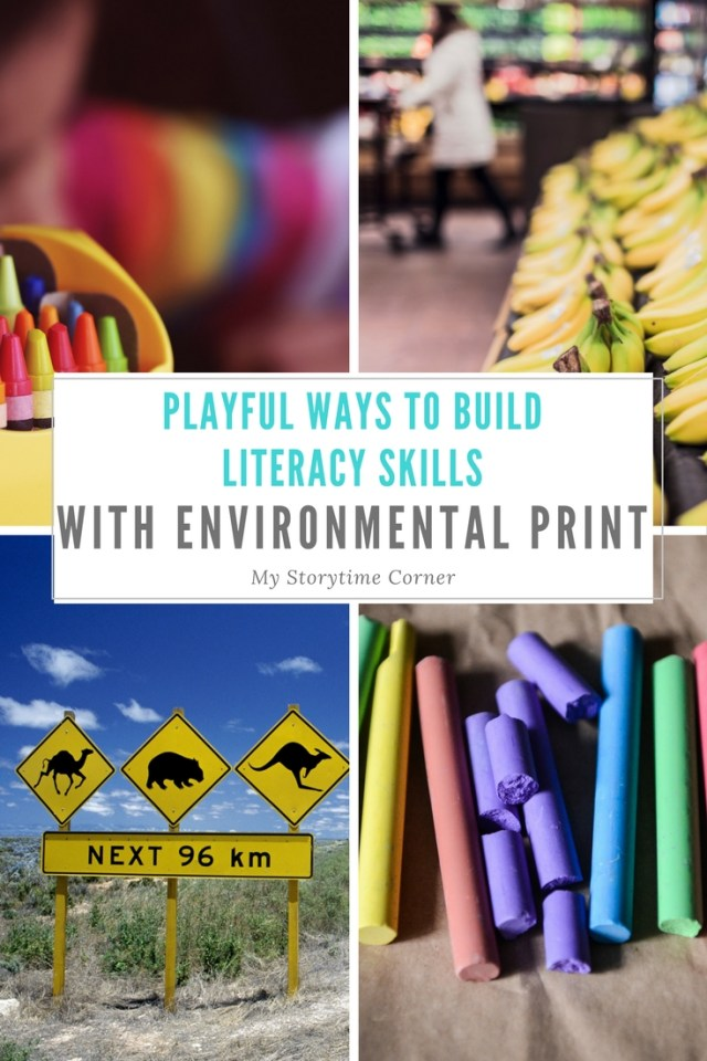 Playful Ways to Build Literacy Skills with Environmental Print