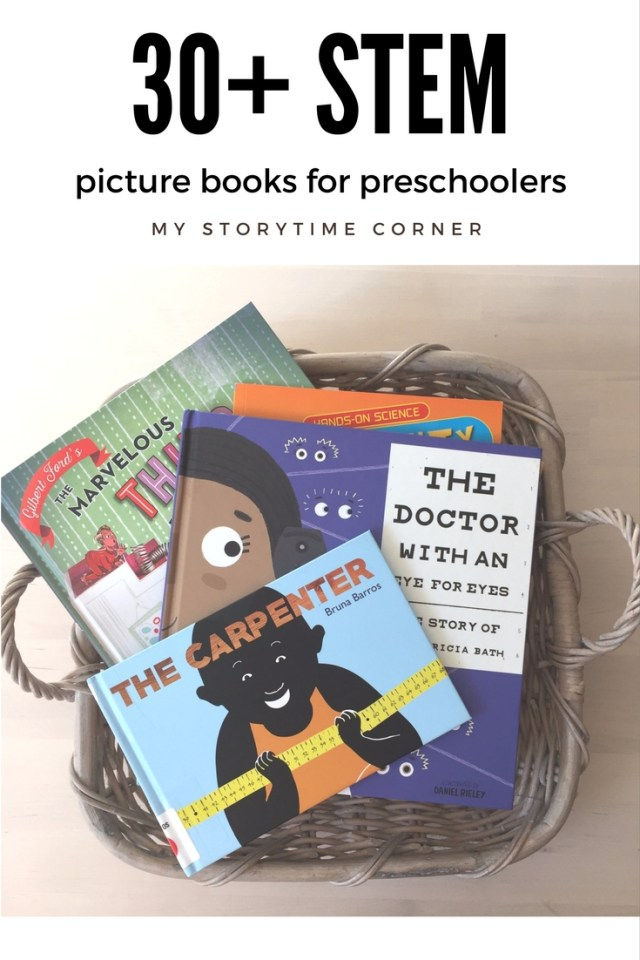 30 STEM Picture Books for Preschoolers
