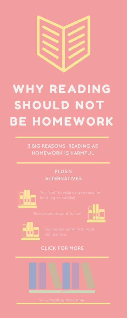 Why Reading Should Not Be Homework