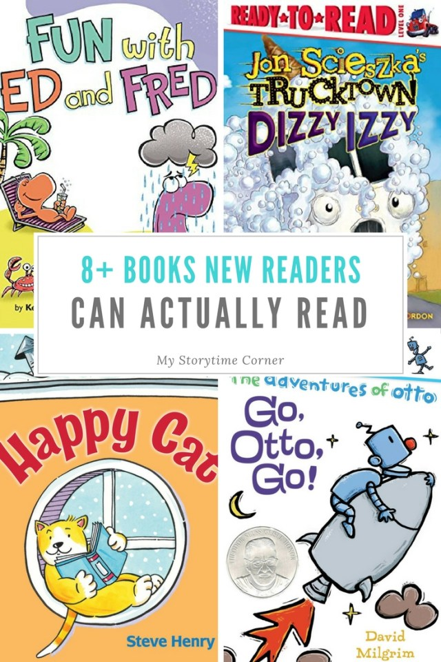 Books New Readers in Kindergarten and First Grade Can Actually Read