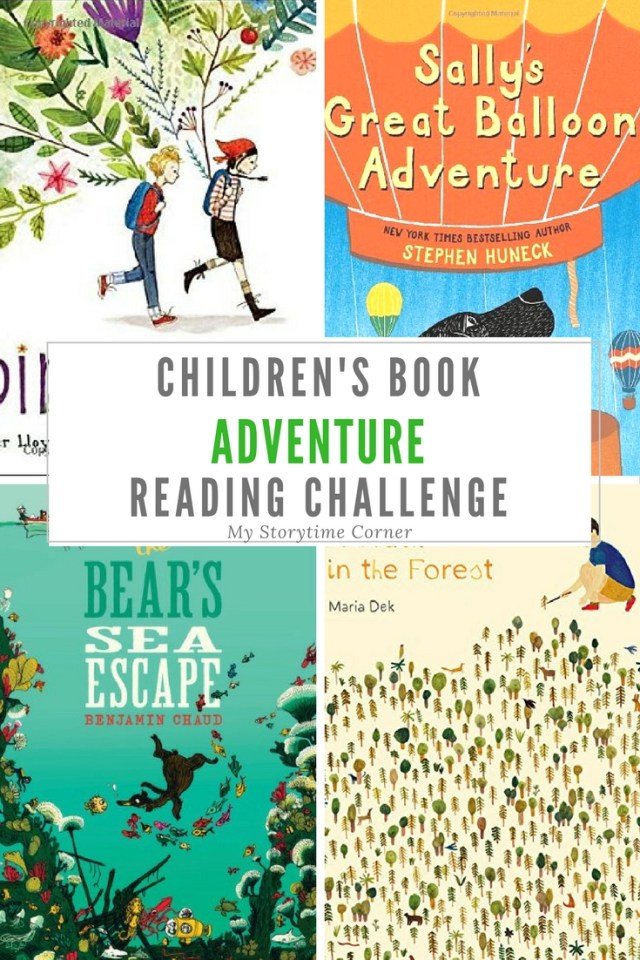 Adventure Picture Books for Preschoolers Reading Challenge