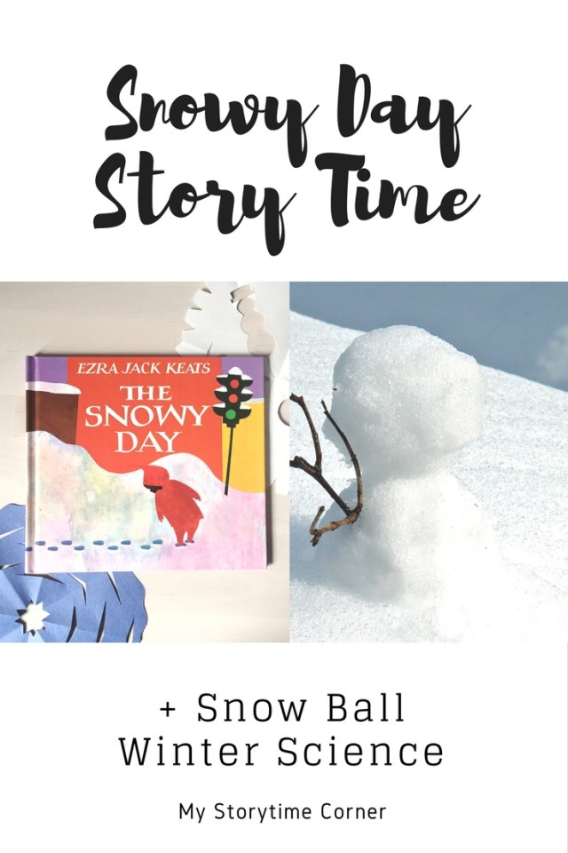 Snowy Day Story Time with Snow Ball Winter Science Activity